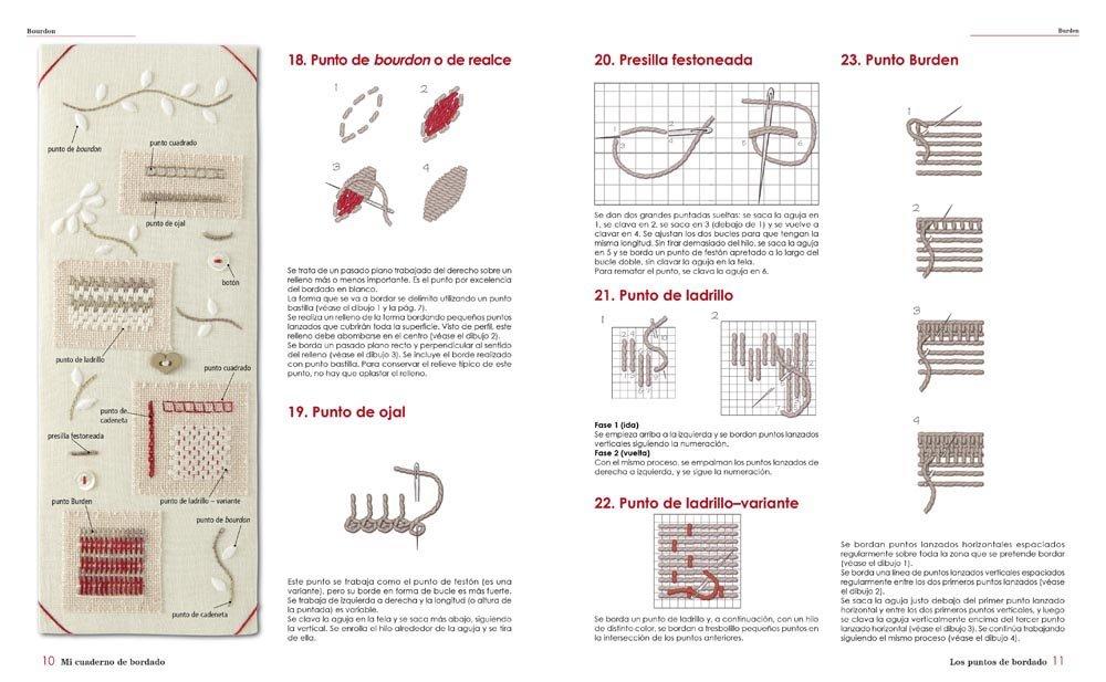 Mi cuaderno de bordado : la guía imprescindible de bordado tradicional: Marie Suárez: 9788425228919: Amazon.com: Books
