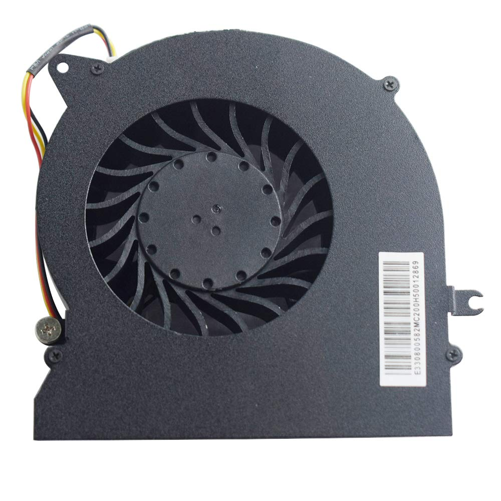 Rangale New CPU Cooling Fan Compatible for MSI GT72 GT72S GT72VR MS-1781 MS-1782 Series Laptop PABD19735BM N348
