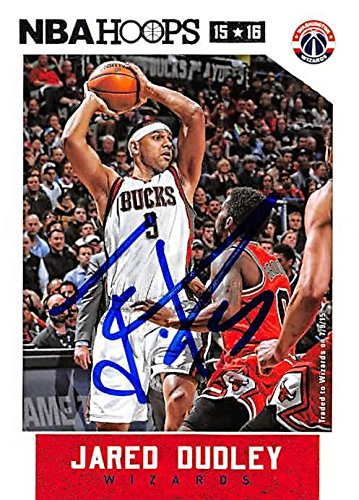 Jared Dudley autographed Basketball Card (Milwaukee Bucks) 2015 Panini Hoops   13 - Unsigned 0a3f07a4c
