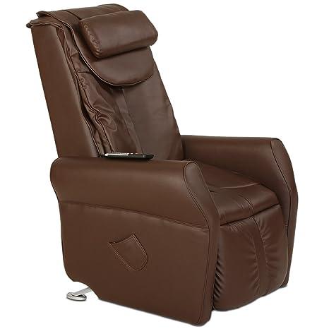 Maxvitalis Massagesessel Fernsehsessel Mit Warmefunktion Aufstehhilfe Shiatsu Massage Relaxsessel Braun