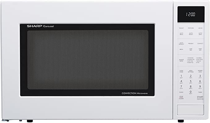 Amazon.com: Sharp smc1585bw 1.5 cu. ft. Microondas Horno con ...