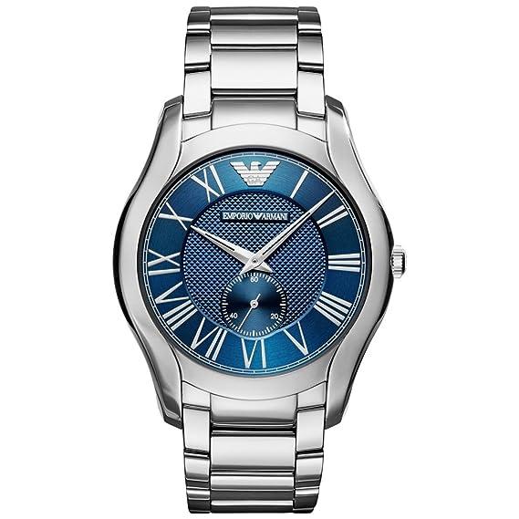 Emporio Armani Reloj Analógico para Hombre de Cuarzo con Correa en Acero Inoxidable AR11085: Amazon.es: Relojes