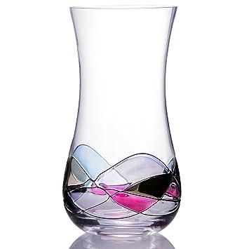 352eaf9b9d759 Handcrafted Blown Glass Flower Vase by Sonoma Artisan  Elegant Design with  a Modern Twist
