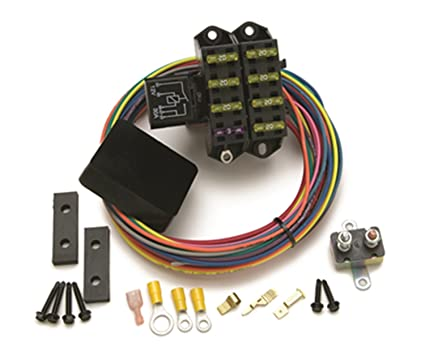 61SUtALm8RL._SX425_ amazon com painless wiring 70207 aux fuse block 7circuit automotive