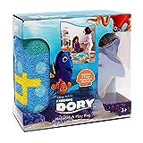 Gertmenian Dory Hopscotch Game Kids Play Rug, Aqua Blue, 26'' x 58''