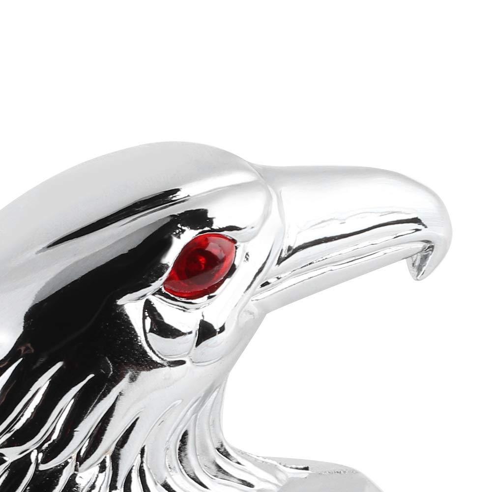 Eagle Head Statue Ornament for Kawasaki Ya Fender Ornament Universal Motorcycle Front Fender Mudguard Decor