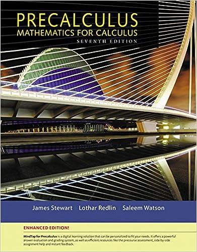 Precalculus Enhanced Edition With Mindtap Math 1 Term 6 Months