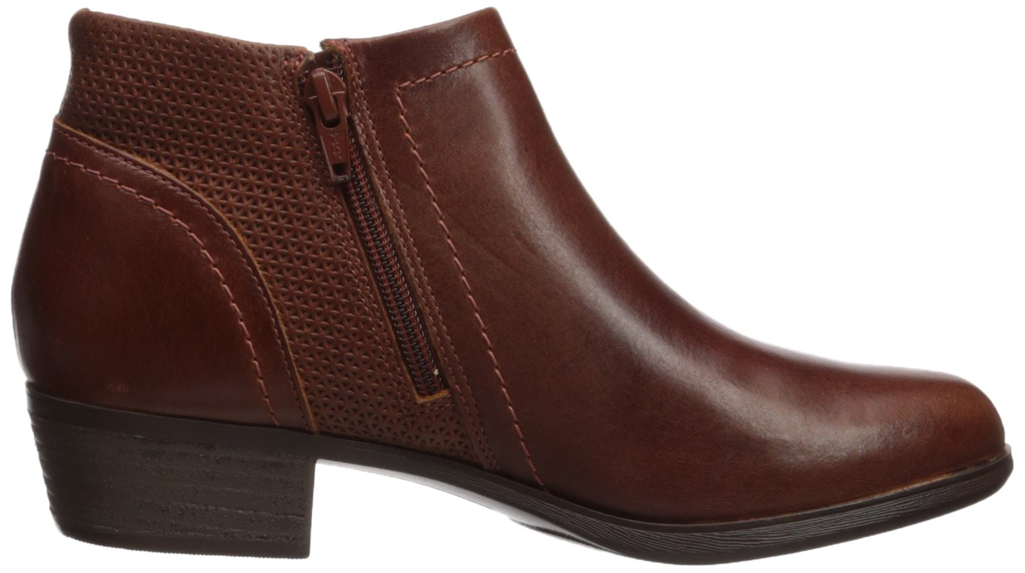 Cobb Hill Women's Oliana Panel Ankle Boot B06W51NQ9S 8 B(M) US|Saddle Pull Up Lthr