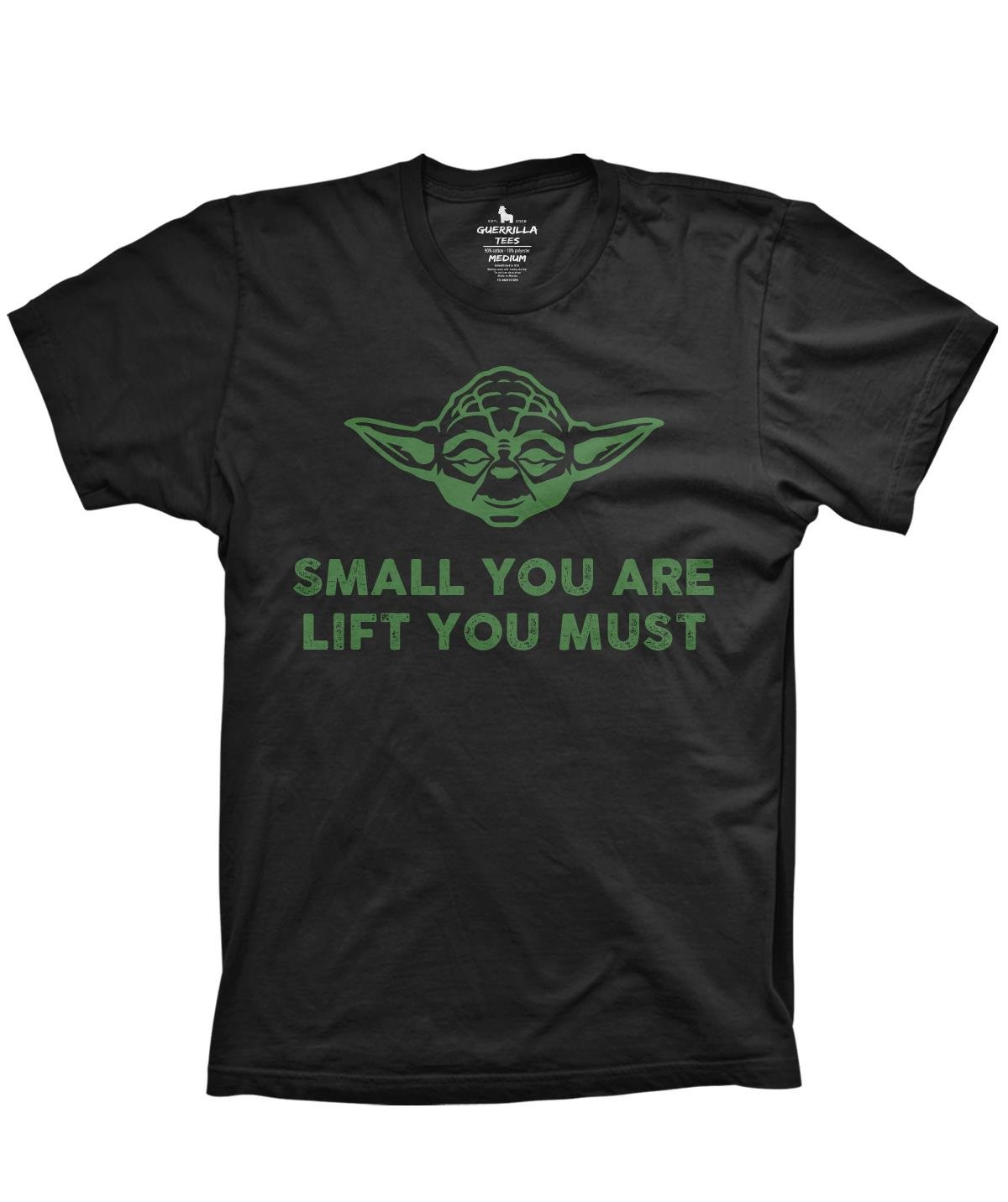 You Are Lift You Must Funny Workout Tshirts Weightlifting Yoda Shirts