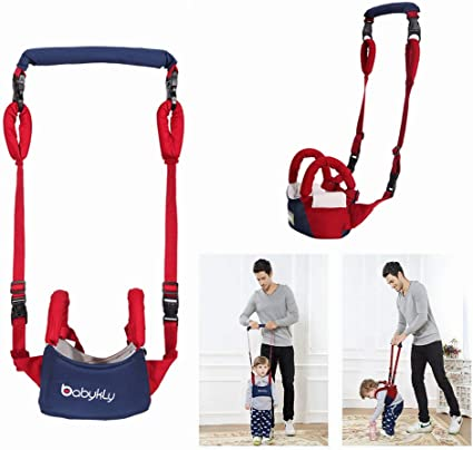 Baby Walking Harness-Walking Harness Child Safety Harness Fall Protection Handheld Kid Keeper Safety Walking Toddler Safety Reins Anti Lost Belt with Adjustable Strap
