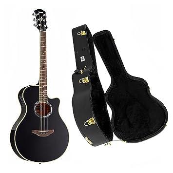 Yamaha apx500iii - Guitarra acústica/eléctrica Negro con Knox carcasa Funda: Amazon.es: Instrumentos musicales