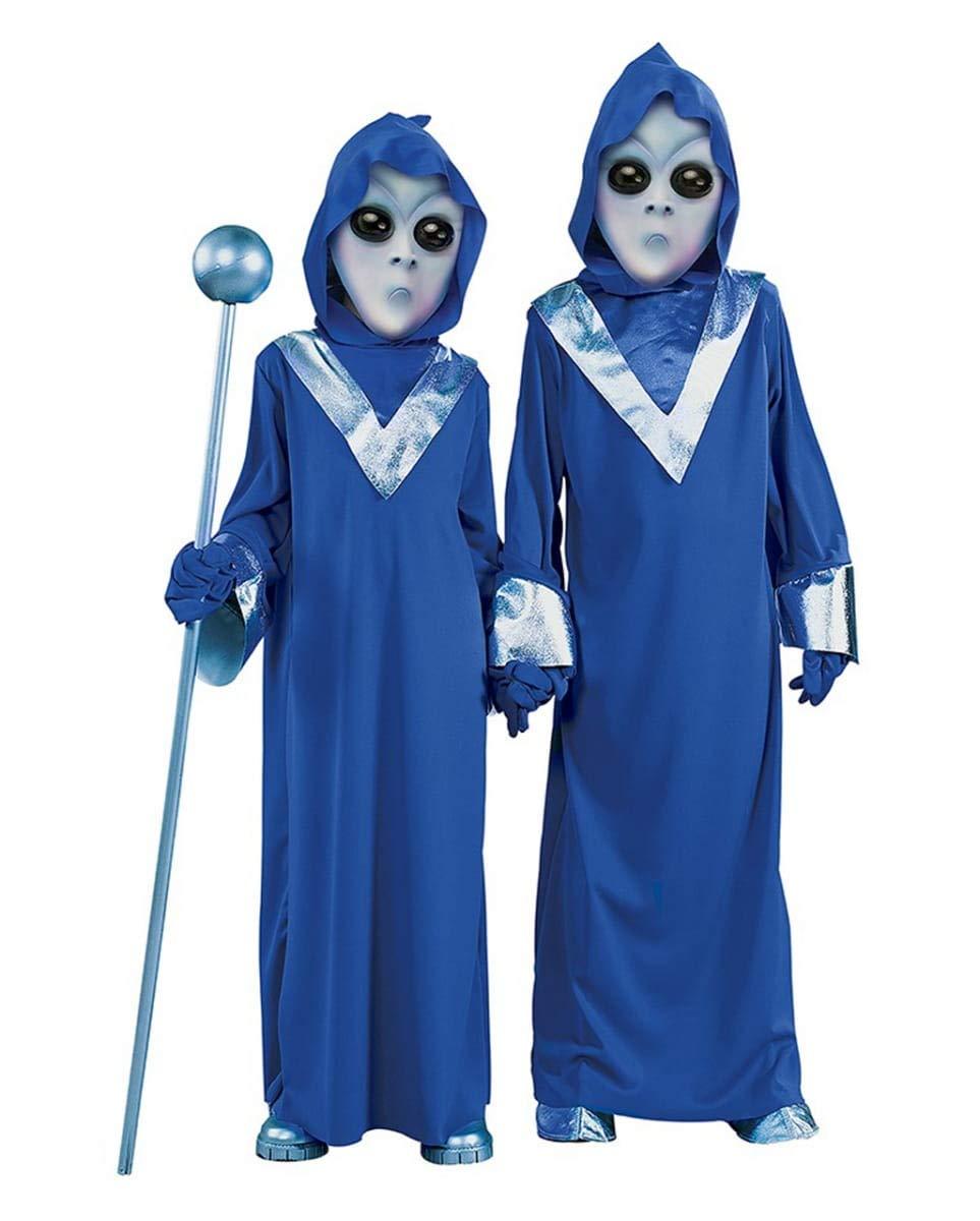 Horror-Shop Disfraz de Deep Space Alien Kids S: Amazon.es ...