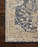 Loloi Porcia Collection Area Rug, 5' x 8', Blue/Beige