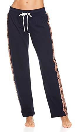 U.S. Polo Assn. Womens Script Logo Super Soft Lounge Pajama Pants ...