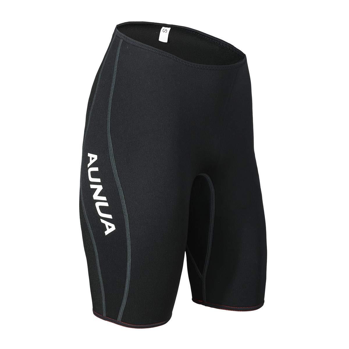 Aunua プレミアム 3mm ネオプレン ウェットスーツ ショートパンツ カヌー 水泳用ショーツ B07KP1HFGV  Medium