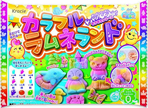 Kracie Colorful Ramune Land - Soda Pop Candy Making Kit (Japanese Candy Making Kit Usa)