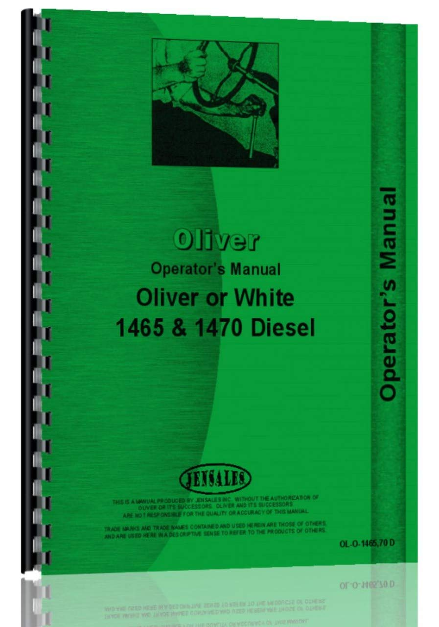 Oliver 1465 Tractor Operators Manual by Jensales
