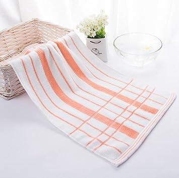 Longless Algodón, toallas, rayas, pareja, de estilo sencillo, lavar la toalla: Amazon.es: Hogar