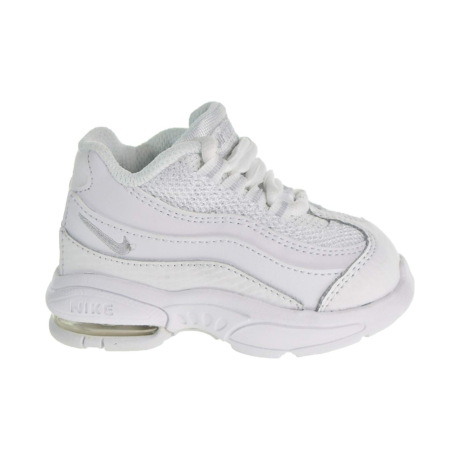 00a0cd76b3 Amazon.com | NIKE Little Max 95 Baby Toddlers Shoes White 311525-109 (8 M  US) | Sneakers