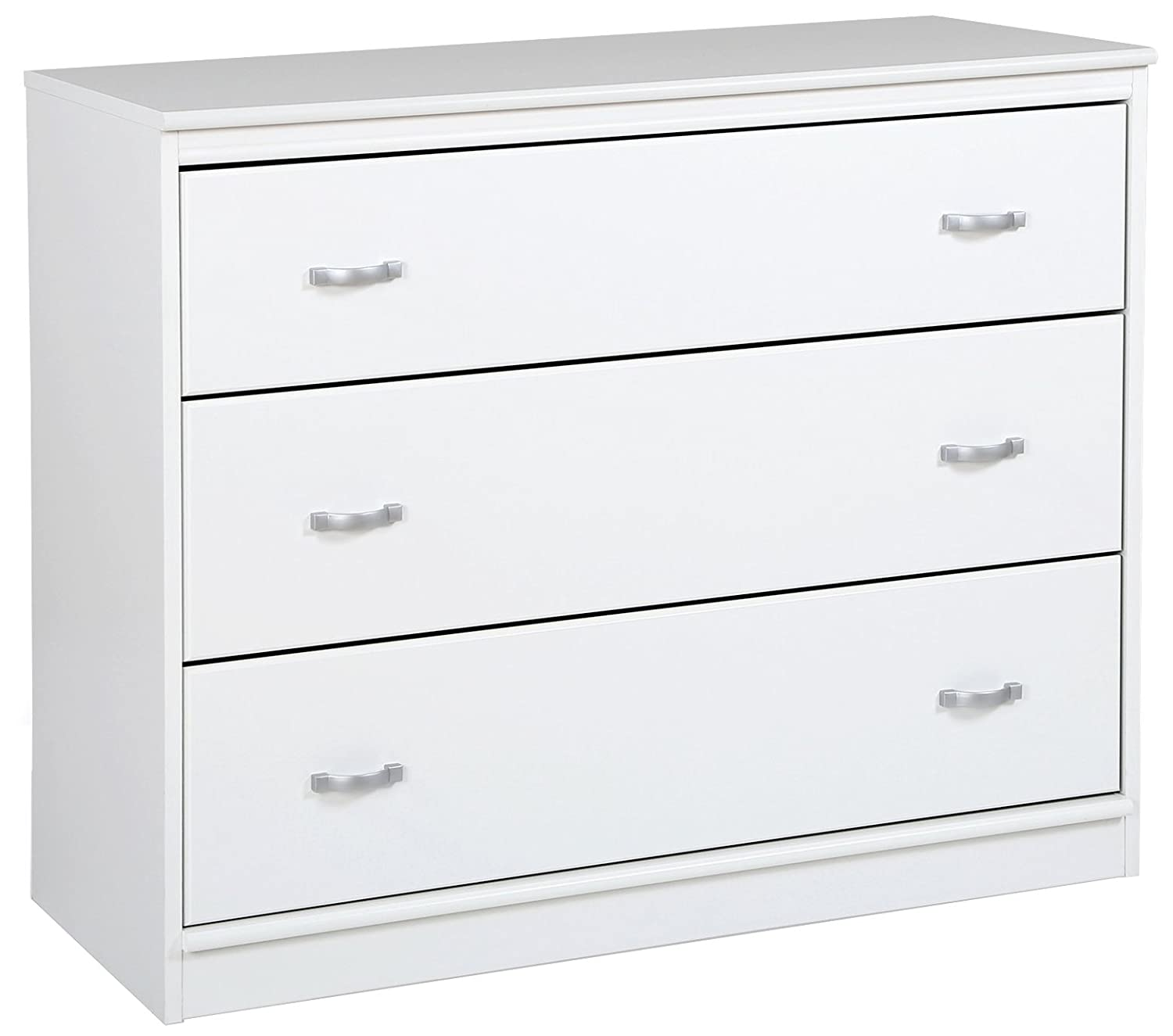 South Shore Mobby 3-Drawer Chest, Pure White 3880033