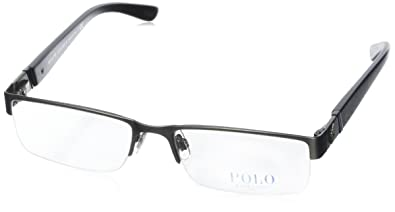 e1a49acbf162 Image Unavailable. Image not available for. Color: Polo PH1117 Eyeglasses-9157  Brushed Dark ...