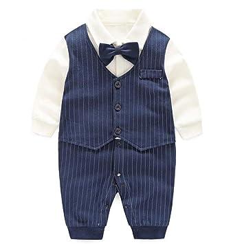 LJYH Baby Gentleman 2 Pieces Clothing Set Boys Shorts Set