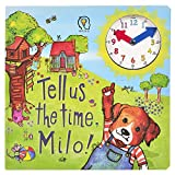 Amonev Clock Book Time Teaching Story Book Tell Us The Time Milo!