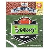 GoDaddy Bowl Jersey Patch Bowling Green vs. Georgia Southern (2015) offers