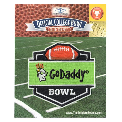 Godaddy Bowl Jersey Patch Bowling Green Vs  Georgia Southern  2015