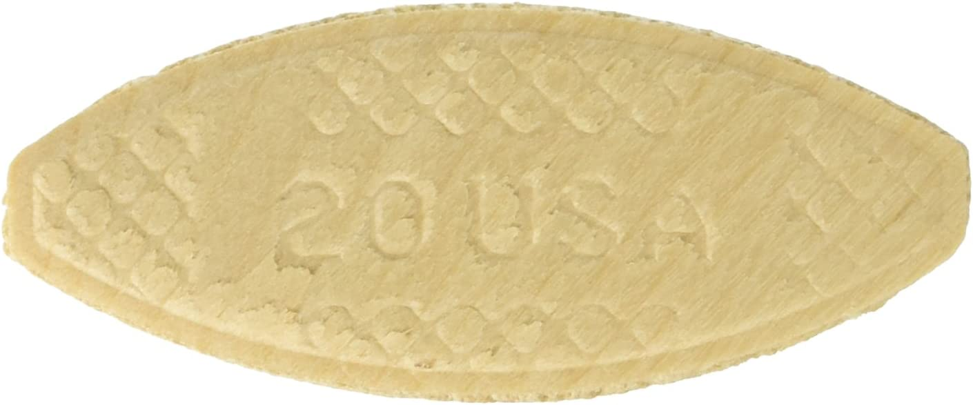 """PORTER-CABLE 5553 Plate Joining Biscuits """"20"""" , 250 biscuits/ pack, Pack of 4 (1000 biscuits)"""
