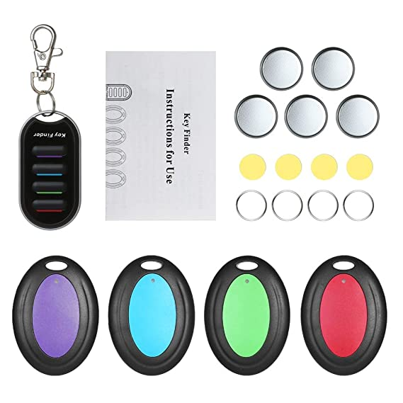 Amazon.com: AZUDAN GPS Trackers | Wireless Key Finder Anti ...