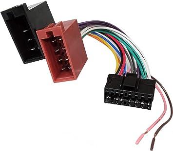 Aerzetix E6 Adapter Cable Converter Iso Radio Cable Radio Adapter Jack Iso Cable Connection Cable For Sony Auto