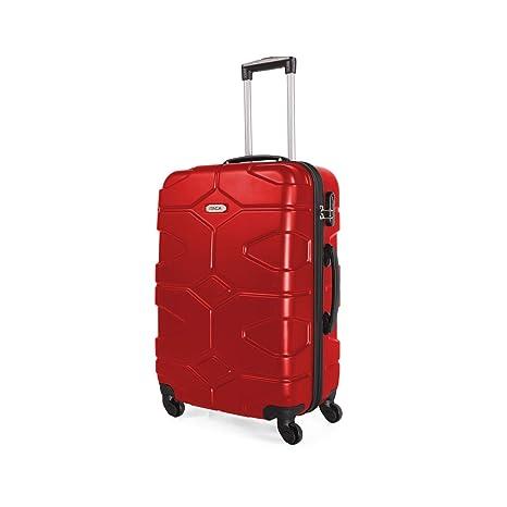 ITACA - 71160 Maleta Trolley 60 cm Mediana de ABS. Rígida, Resistente, Robusta