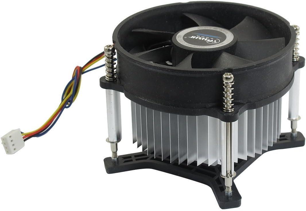 Deal MUX 12V DC 2100rpm de plata de forma redonda de arcilla de CPU de Disipador de ventilador de ordenador