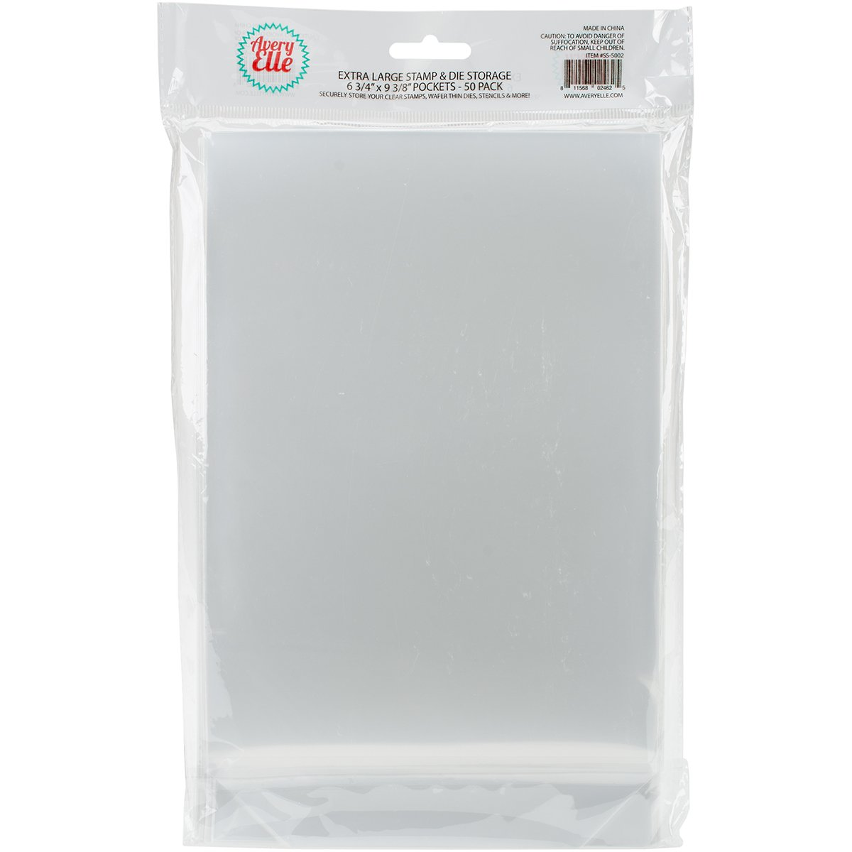 Avery Elle Stamp and Die Storage Pockets, Multi-Colour, 16.51 x 15.87 x 1.9 cm SS-5003
