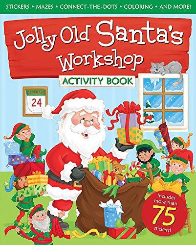 Santa Jolly Old (Jolly Old Santa's Workshop Activity Book)