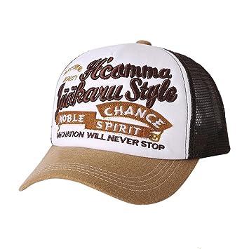 Gorras,Btruely Herren Sombrero Hip Hop Gorras Beisbol Gorra para Hombre Mujer Sombreros
