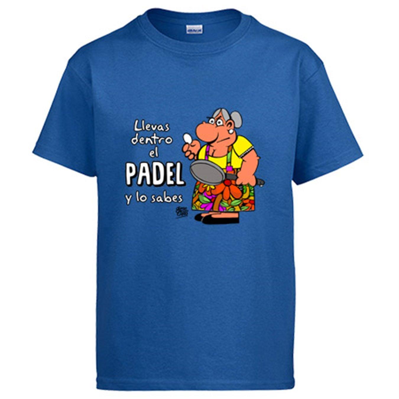 Diver Bebé Camiseta Padel Tenis Llevas Dentro el Padel y lo Sabes ...