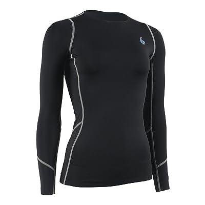 BornInTheLab WomenCompression Baselayer Sports Long Sleeve Shirt