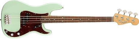 Fender American Original 60s Precision Bass - tecla palisandro sobre verde (incluye estuche): Amazon.es: Instrumentos musicales