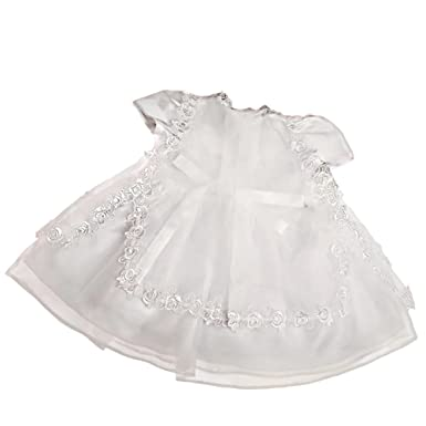 68afd1dce Dressy Daisy Baby Girls' 3 pcs Lace Baptism Christening Dresses With Cape Bonnet  Infant Size