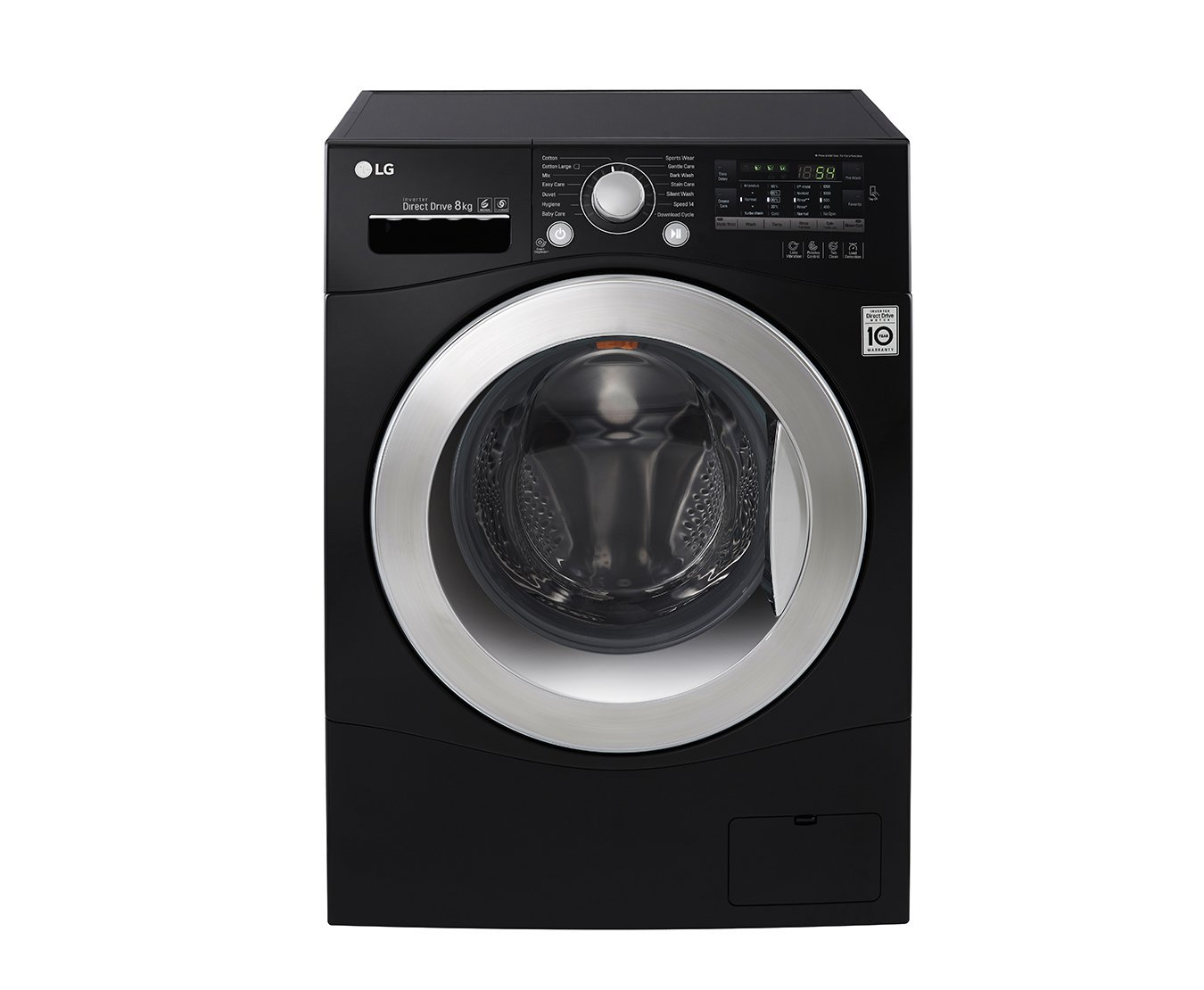 LG FH2A8TDN8 Independiente Carga frontal 8kg 1200RPM A+++ Negro ...