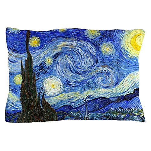 CafePress Starry Pillow Standard Unique