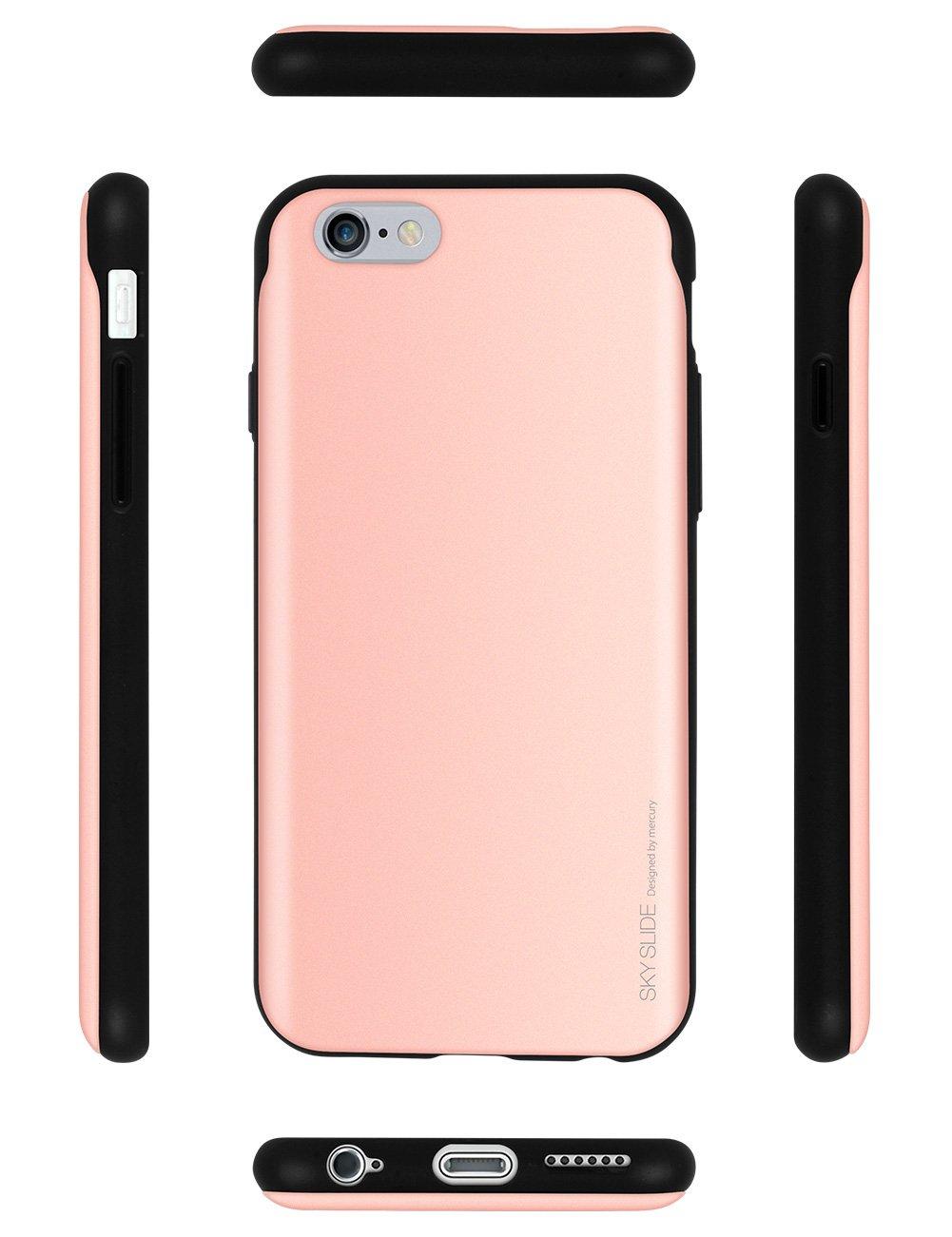 Harga Jual Goospery Iphone 6 6s Sky Slide Bumper Case Silver 8 Hotpink Sliding Card Holder Protective Dual Layer Tpu
