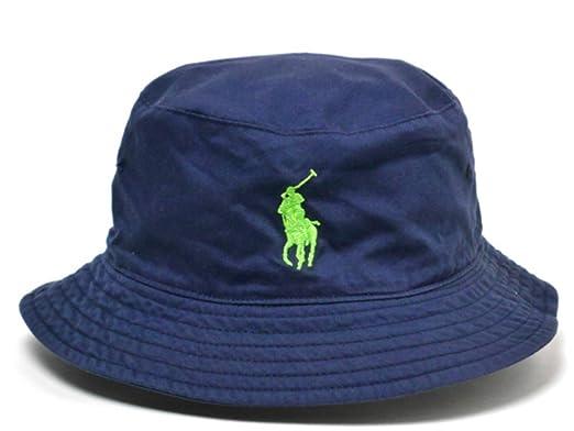 1bd40116a7d POLO Sport Ralph Lauren Big Pony 2016 US Open Tournament Tennis Bucket Hat  Navy Blue SMALL