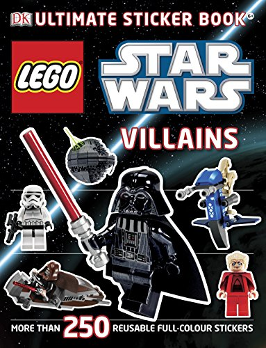 Lego Star Wars Villains Ultimate Sticker Book (Ultimate Stickers) (Lego Star Wars Calendar)