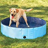 ETbotu Portable Pet Bathtub Collapsible Waterproof Bath Tub Swimming Pool
