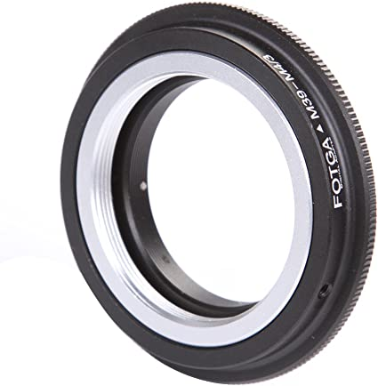 FOTGA Lens Mount Adapter for Nikon F Mount Lens to Micro Four Thirds M4//3 MFT Mount Camera Olympus Pen E-PL1,E-PL2,E-M,OM-D,E-M5,E-M10 Mark II//III Panasonic Lumix GH1,GH2,GH3,GH4,GH5,GH5s Nikon-M4//3