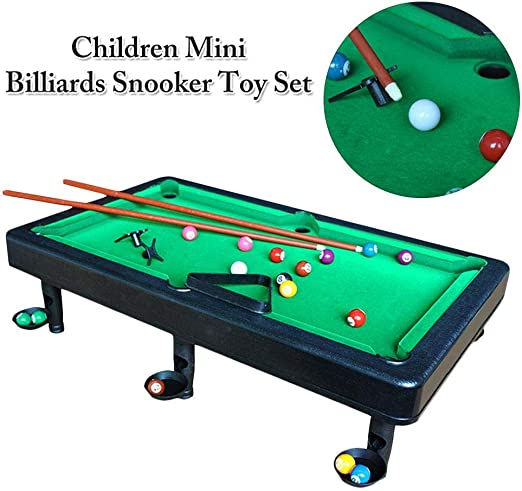asterisknewly Mini Billiards Table Juegos De Mesa para Niños Mini ...