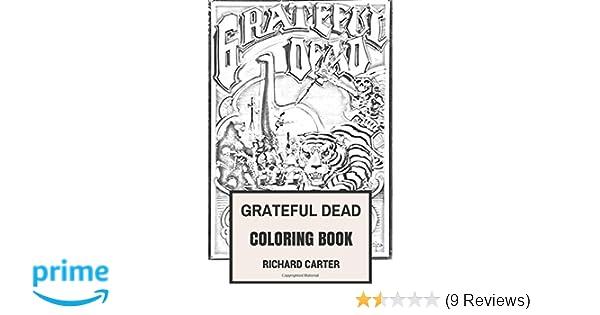 Amazon.com: Grateful Dead Coloring Book: Californian Rock Band ...